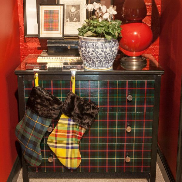 SMW Home's collection of tartan Christmas Stockings - now available!