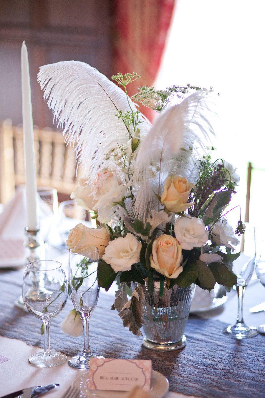 1920s wedding decoration ideas  Wedding  Tablescape Centerpiece  The Great Gatsby us