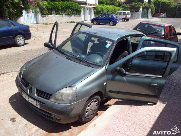 annonce de vente de voiture occasion en tunisie renault clio tunis renault occasion en tunisie. Black Bedroom Furniture Sets. Home Design Ideas