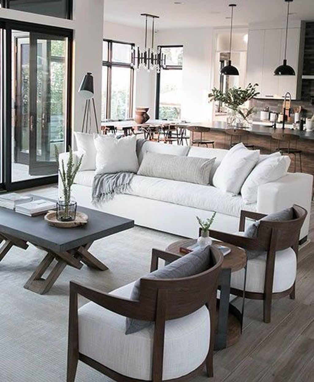 Open Plan Living Room Small Living Room Design Open Living Room Open Concept Living Room In 2020 Open Plan Living Room Open Living Room Farm House Living Room #open #floor #living #room