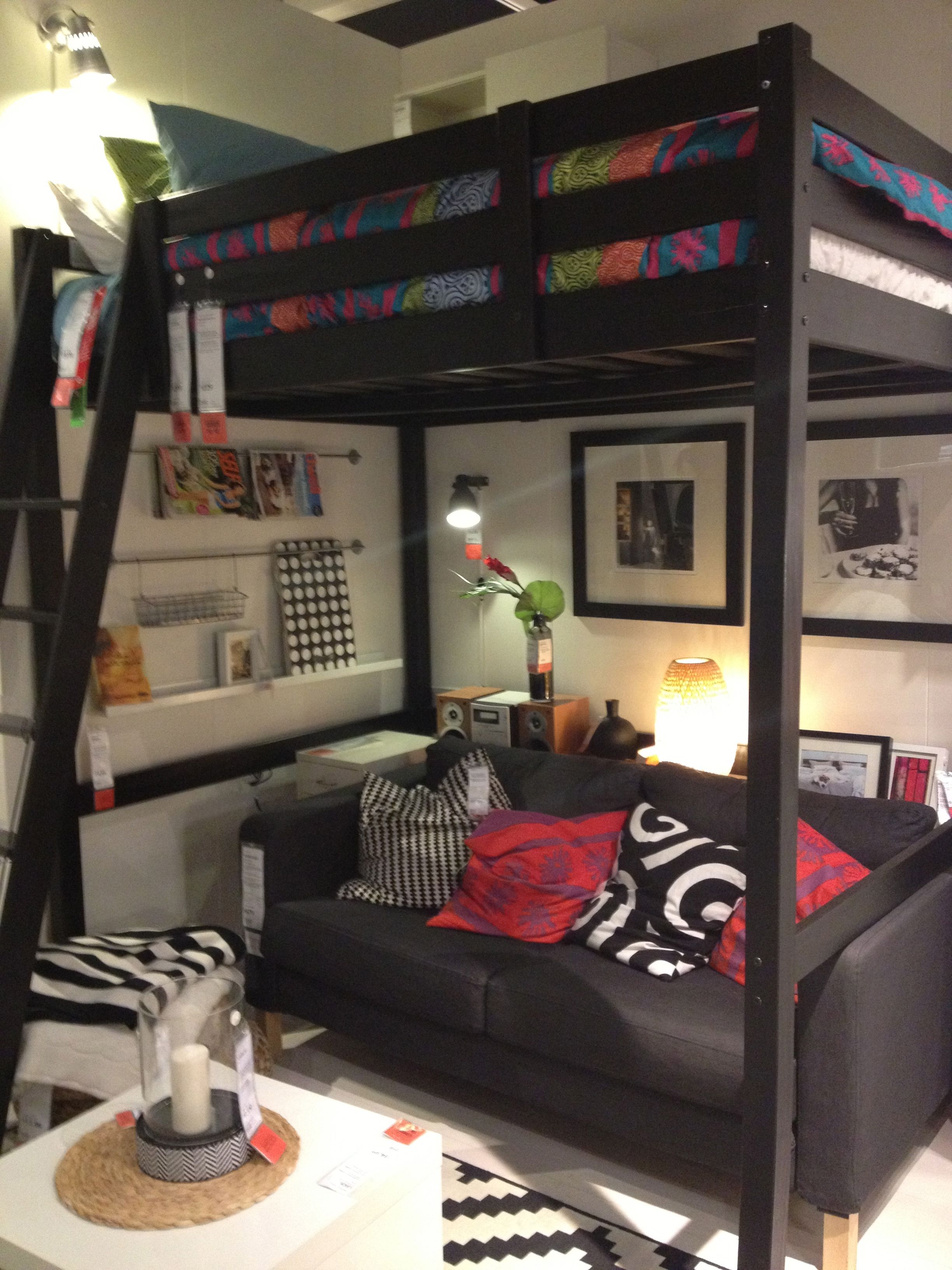 renters solutions: how to make a loft bed work for you | google images