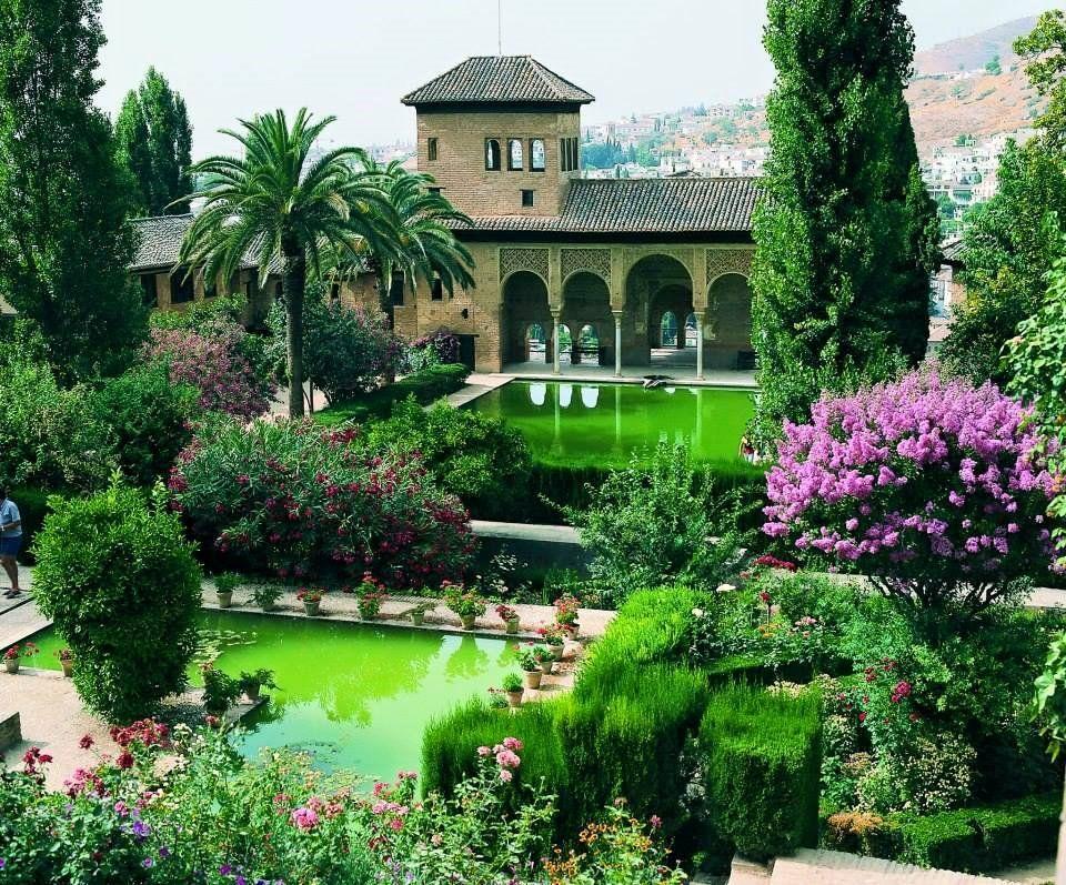 jardines de la alhambra jardines del partal alhambra granada jardins
