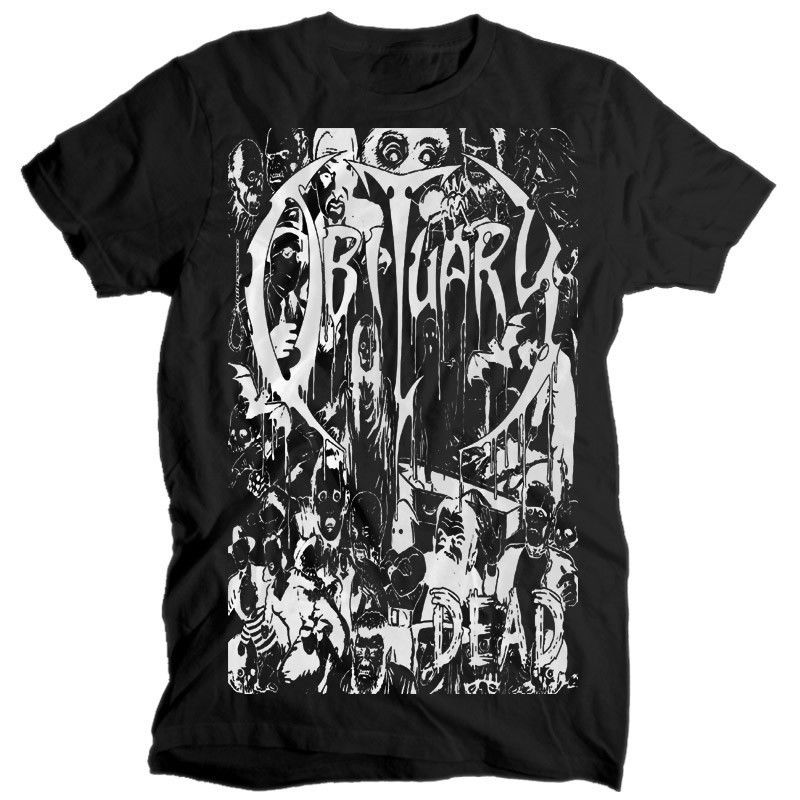 3e10b98c3 Obituary DEAD BLACK T SHIRT cotton all sizes S-5XL  fashion  clothing