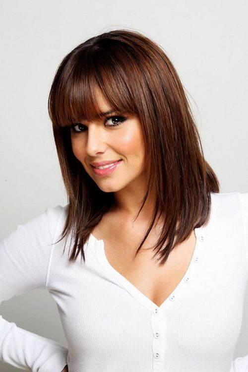 Medium length hairstyles with bangs for womeng 500750 hair medium length hairstyles with bangs need tips in application medium long haircuts can be easily chosen from various models as well as short hairstyles with urmus Choice Image