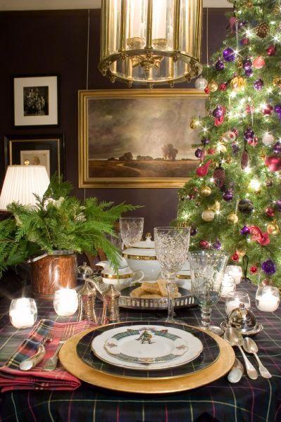Top 35 Christmas Decorations Uk People Will Love Christmas Decorations Uk Christmas Table Settings Tartan Christmas