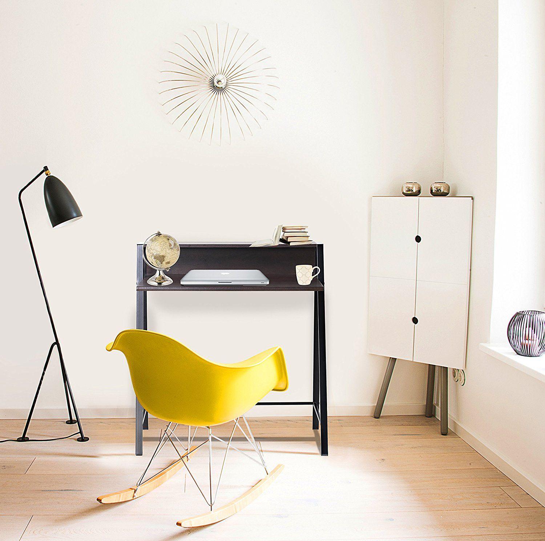 bonVIVO® Schreibtisch ROXANNE mit 2x USB-Port, moderner Sekretär im ...