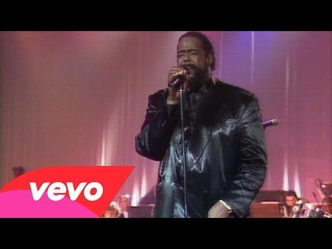 Barry White In Concert Live Youtube Concert Youtube Live