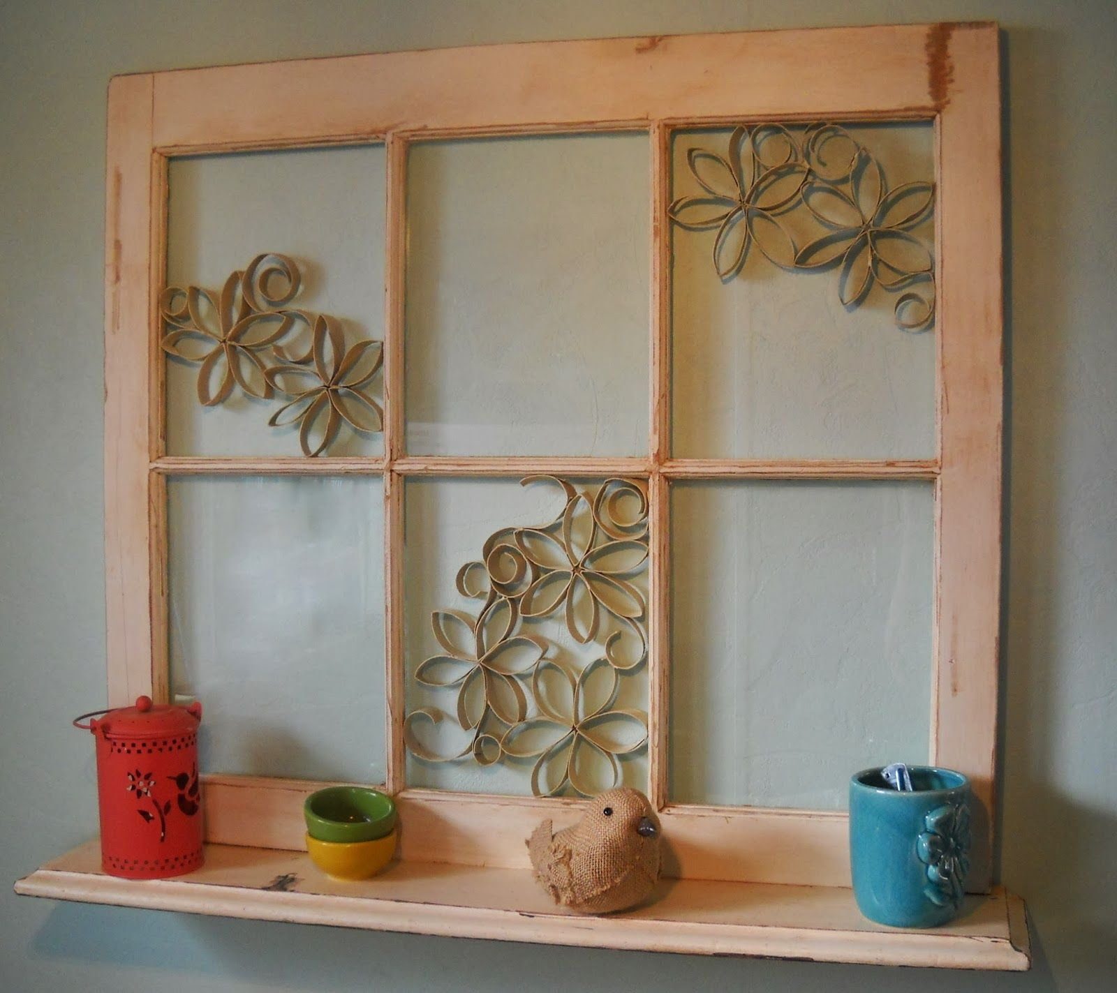 Image Of Window Pane Wall Decor Ideas