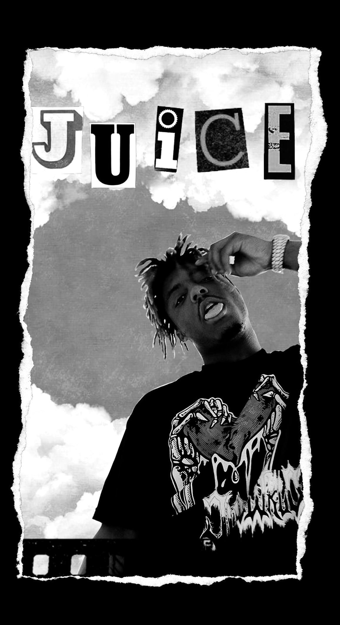 Juice Wrld Wallpaper For Iphone Full Hd In 2020 Edgy Wallpaper Rapper Wallpaper Iphone Iphone Wallpaper