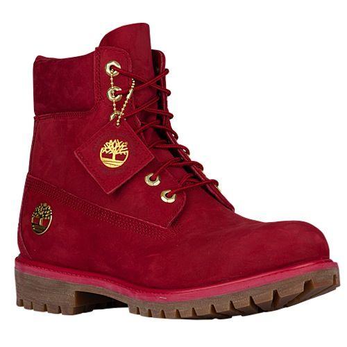 Timberland 6″ Premium Waterproof Boots – Men's – Red Brown