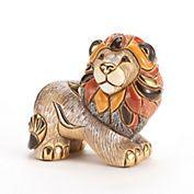 De Rosa Wild Kingdom Sculpture, Lion