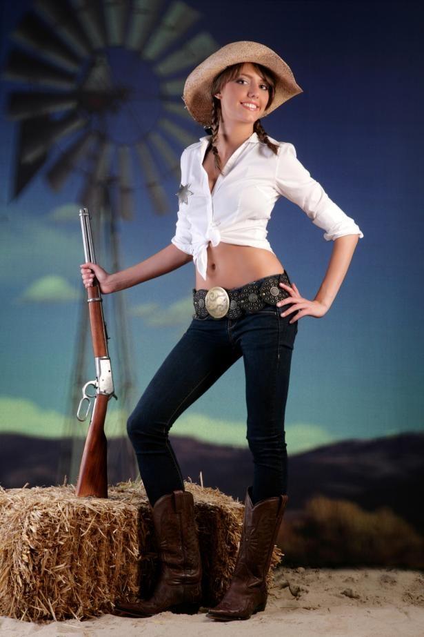 Cowgirl Brostuff Cowgirl Mode Cowboystiefel Und Frisuren