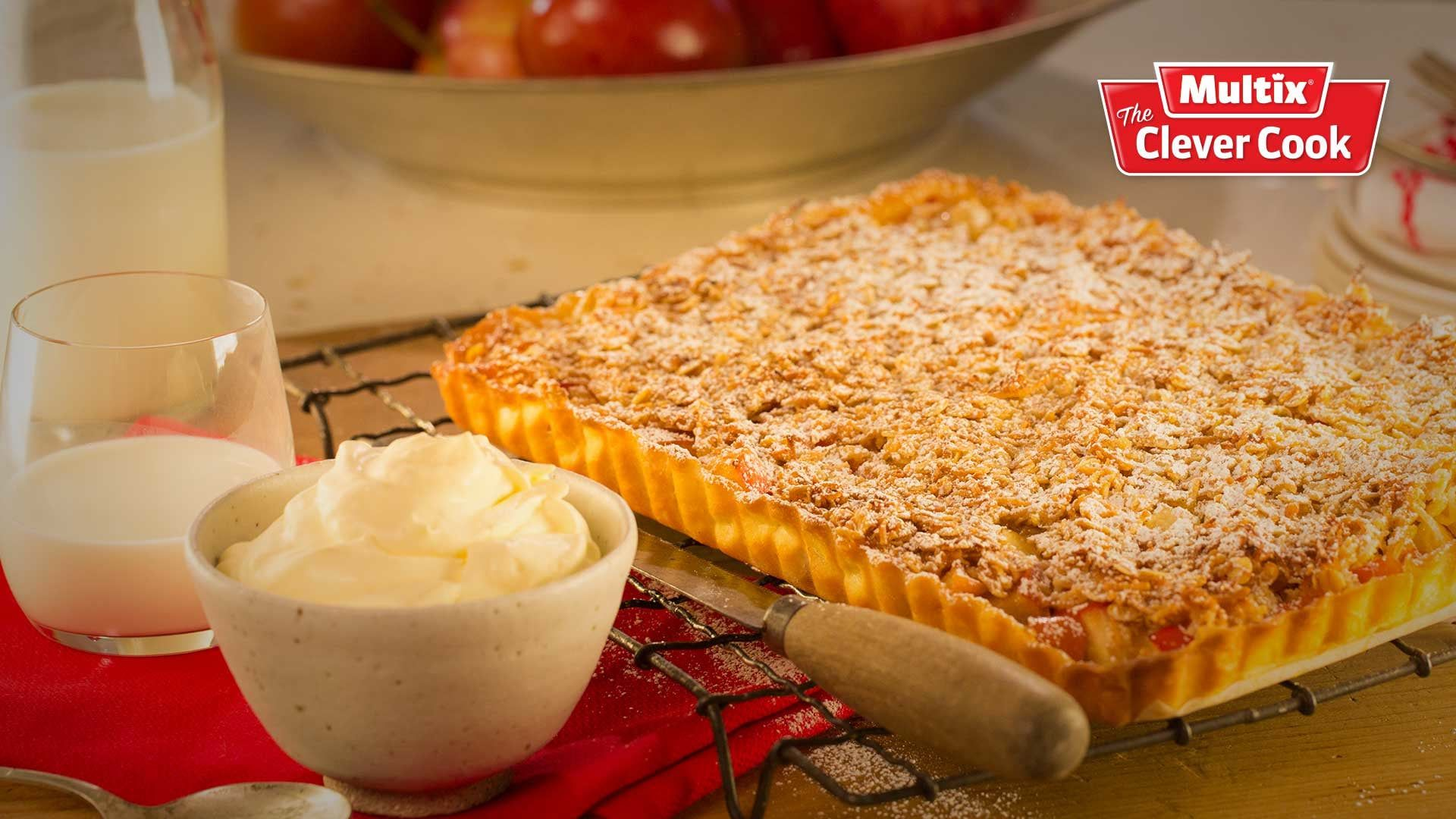 Spiced cinnamon apple slice Dessert recipes easy, Sweet
