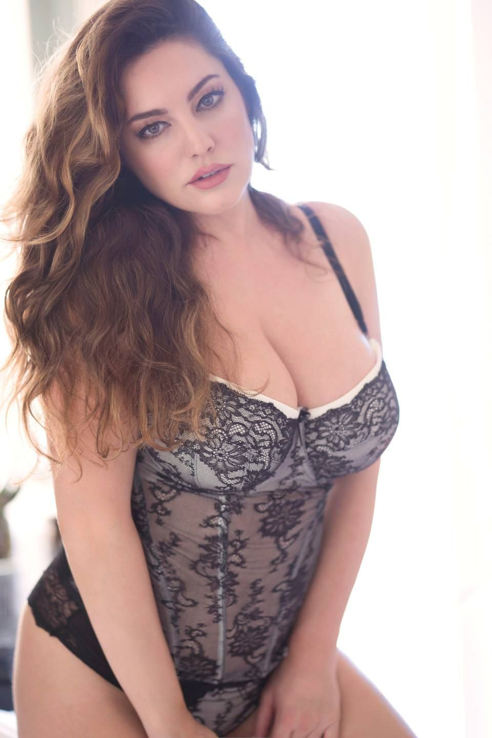 d88386b97b Kelly Brook Red Hot   Sexy Valentine s Day Lingerie Photoshoot 2018 ...