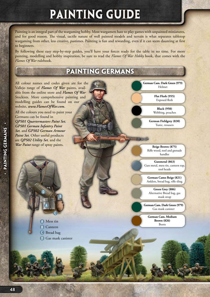 Bolt Action Germans Painting Guide - PDF Free Download