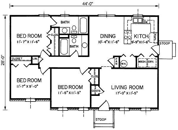 1200 sq ft 4 bedroom house plans google Sample bungalow house plans