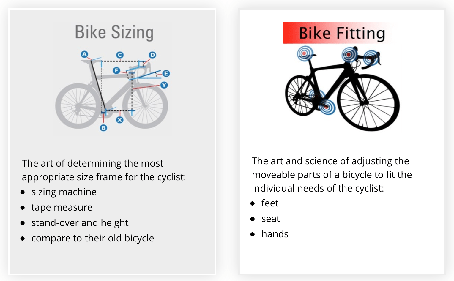 Road Bike Frame Sizes Find & Fit The Right Bicycle for