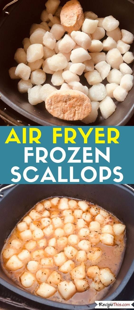 Air Fryer Scallops. How to air fry frozen scallops in a
