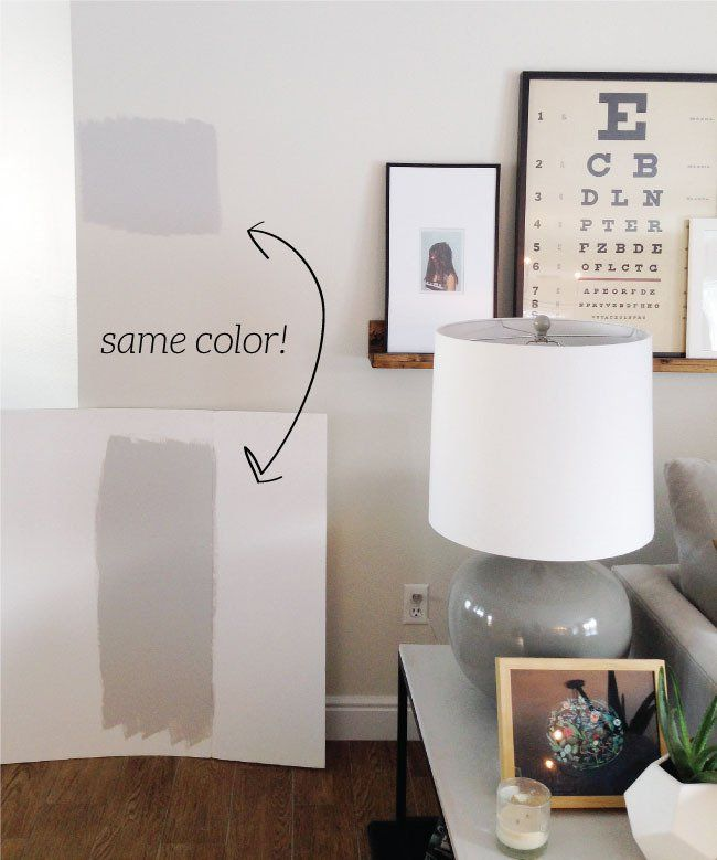 Quick Tips How To Get The Color On Your Wall To Match The Paint