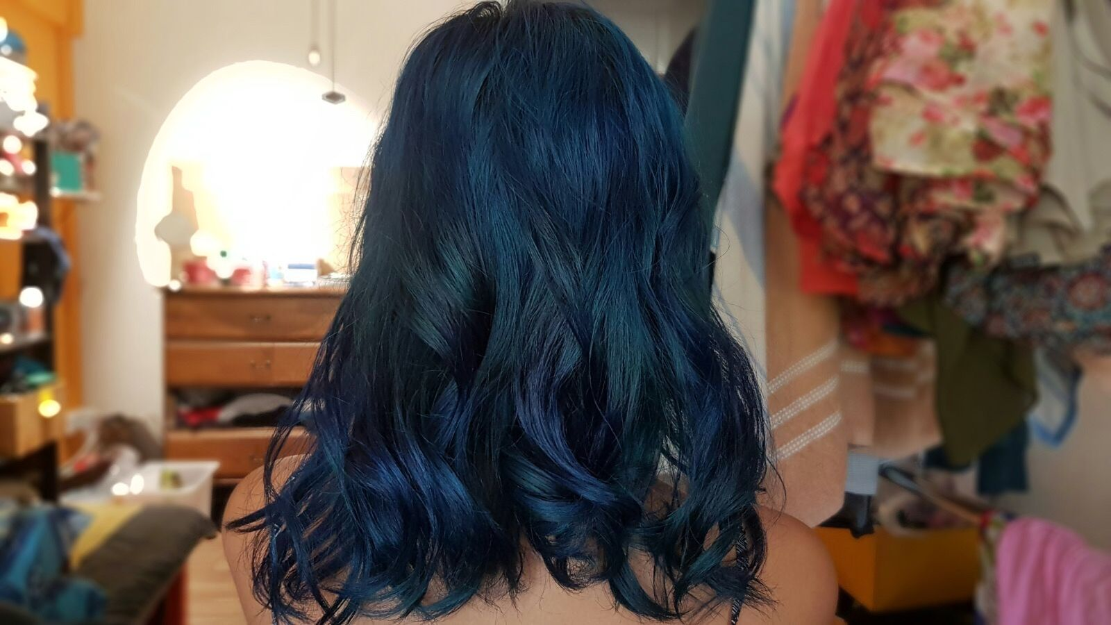 La Riche Directions Midnight Blue In Love With How It Turned Out Directions Hair Dye Cool Hairstyles Coloured Hair
