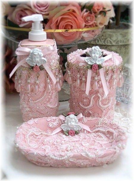 romantic victorian home collection bathroom accessories