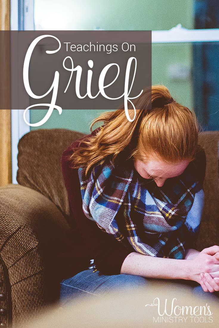 here are some great women's bible study ideas on grief. http://www