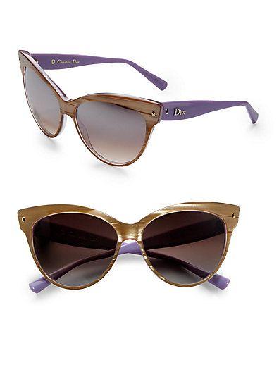 19719683b2 in black - Dior - Cat s-Eye Sunglasses - Saks.com