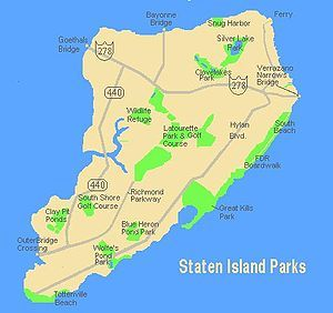 west brighton staten island map Staten Island and Stereotypes