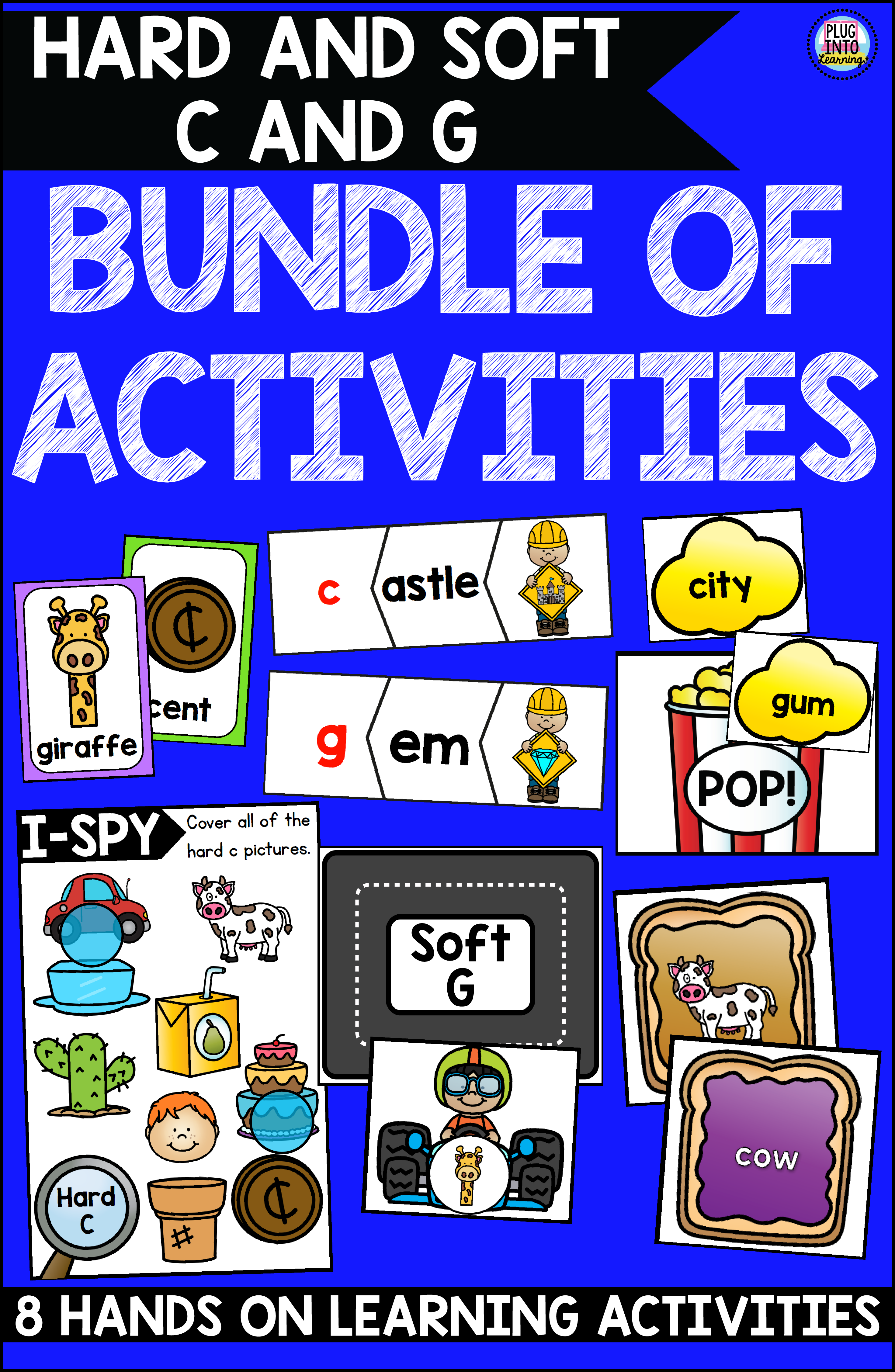 Hard And Soft C And G Bundle Of Activities
