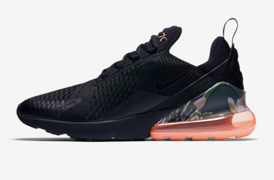 Catch The Nike Air Max 270 Camo Sunset Now Kicksonfire Com Sneakers Nike Air Max Camo Heels Nike Air Max