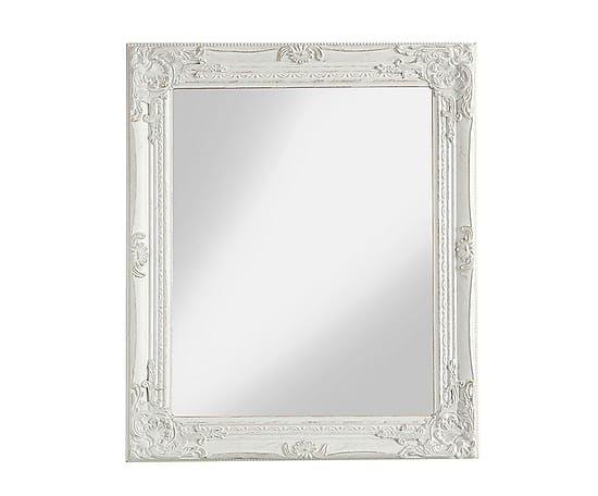 Specchio da parete rettangolare con cornice in legno - Specchio rettangolare da parete ...