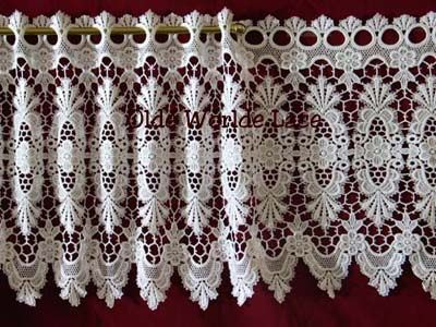 Victorian Macrame Lace Curtains I Have Bought These From JC Penney And  Victorian Trading