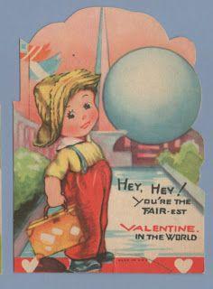 Vintage Valentine Museum: 1939-1940 New York World's Fair Series
