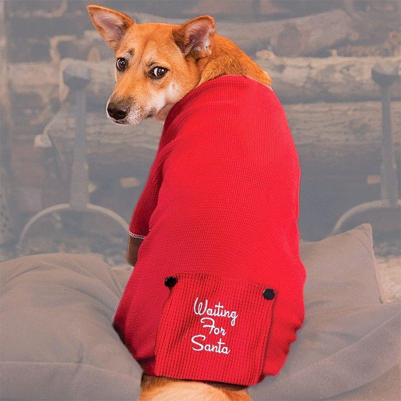 Love Paws Heather Red Dog Pajamas  Onesie