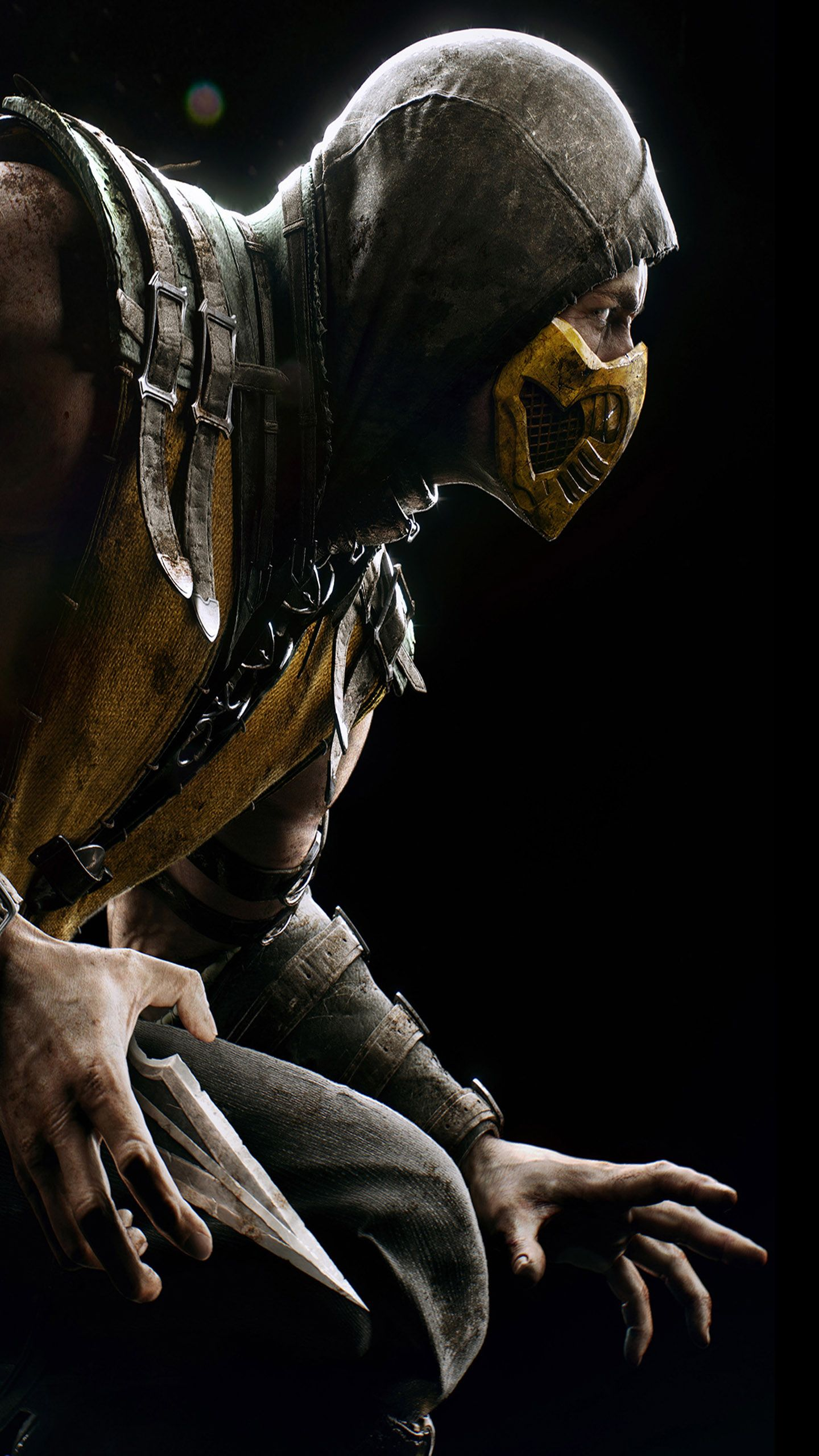 Mortal Kombat X Game Wallpaper For Samsung Galaxy S6 Mortal Kombat Scorpion Mortal Kombat X Scorpion Mortal Kombat