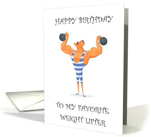 Birthday for weight lifter retro funny strong man card weight birthday for weight lifter retro funny strong man card m4hsunfo
