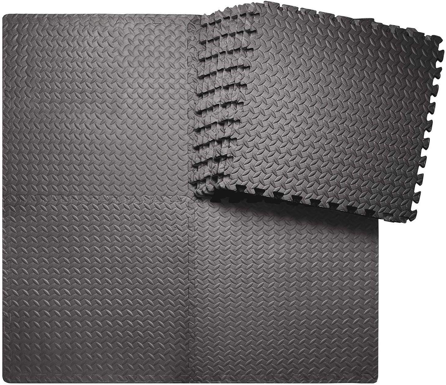 innhom 12/24 Tiles Gym Mat Exercise Mats Puzzle Foam Mats