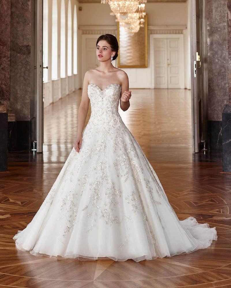 Ein Prinzessin-Brautkleid deluxe! Für deinen Beratungstermin rund um ...