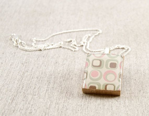 Pastel art scrabble tile pendant 9 wired boutique jewelry pastel art scrabble tile pendant 9 aloadofball Choice Image