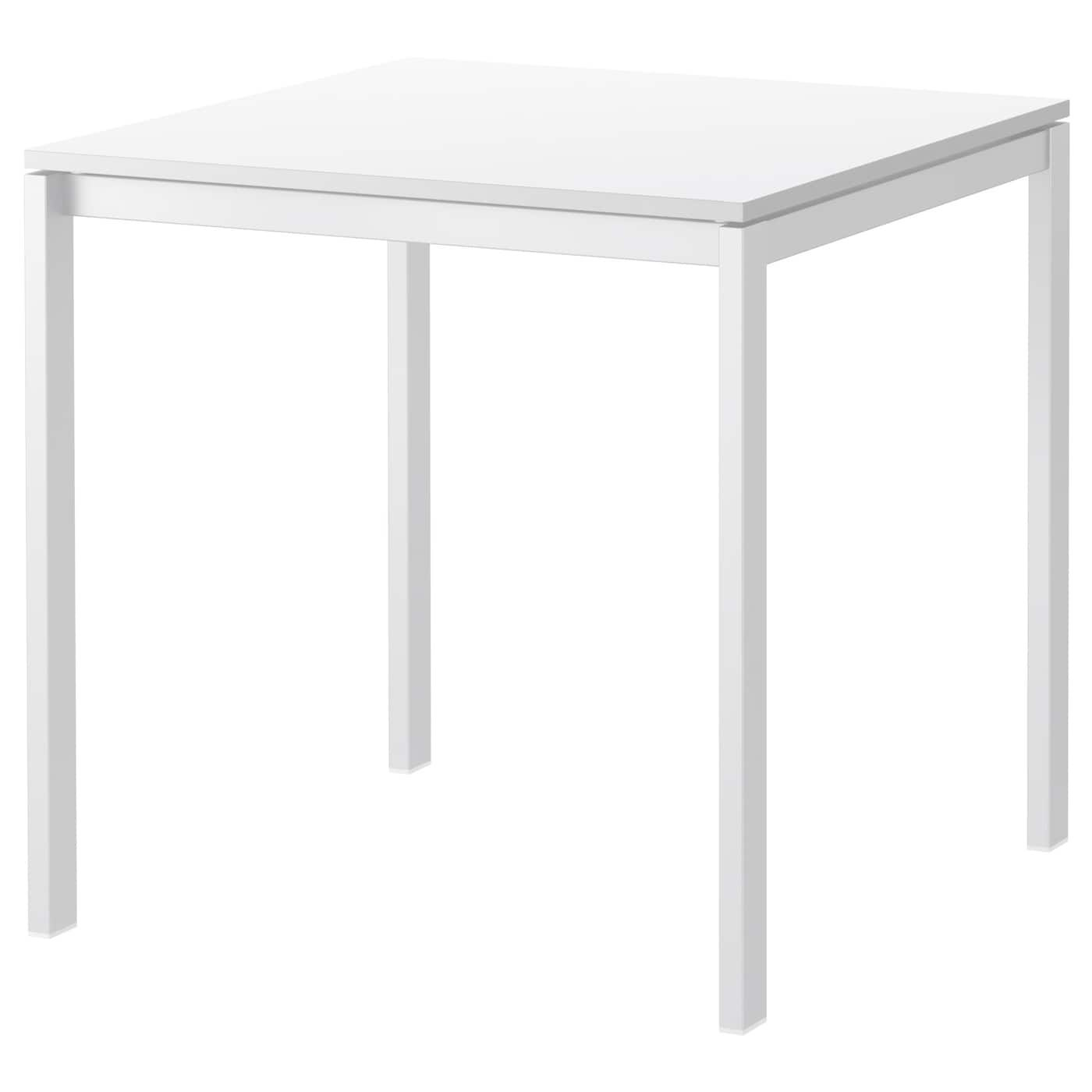 Melltorp Table White 75x75 Cm Ikea Table Contemporary Wood Dining Table Table Makeover