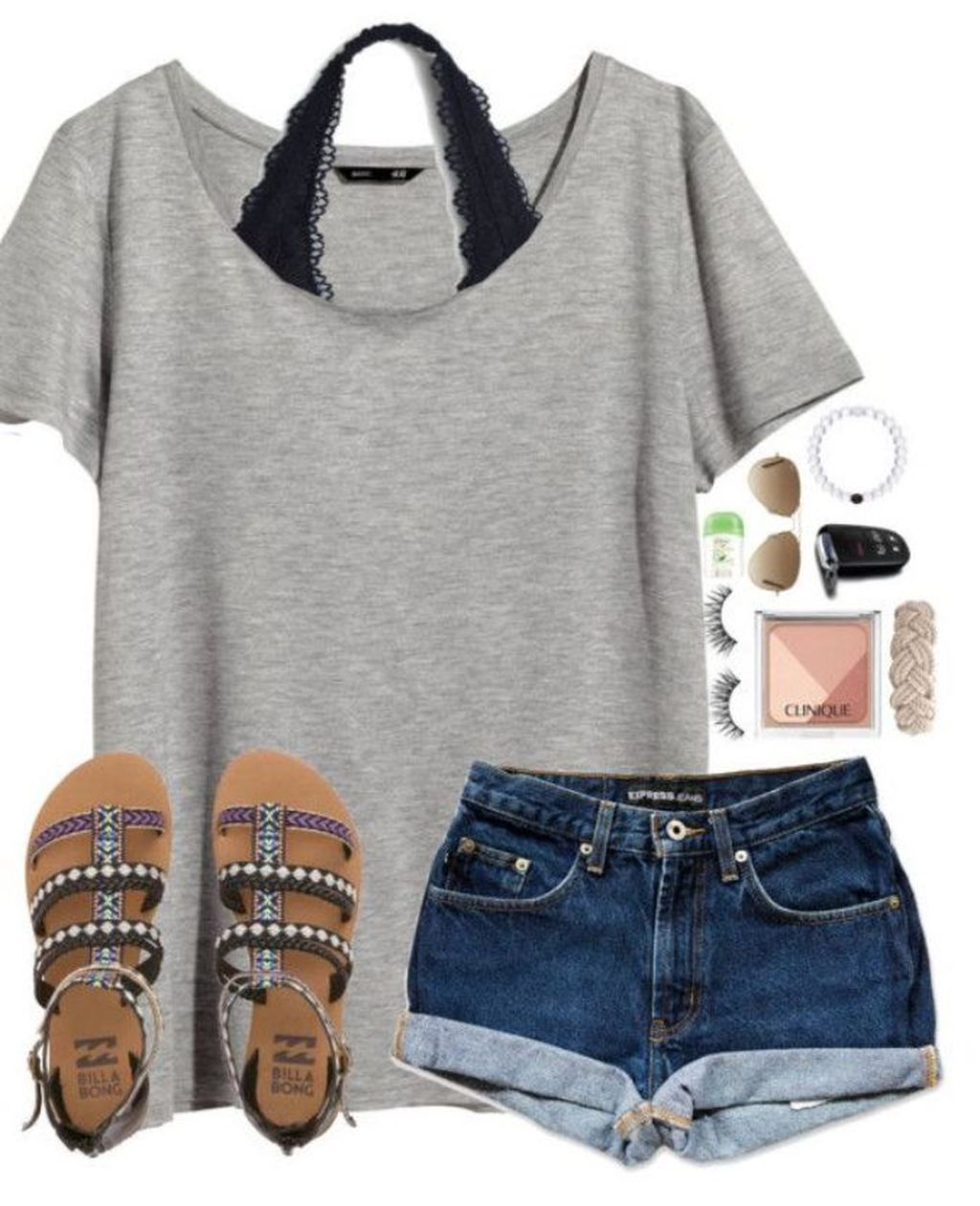 30 Popular Summer Polyvore Outfits Ideas  Cute summer outfits for