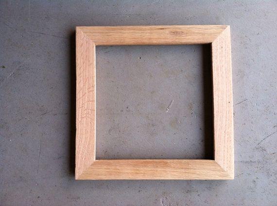 8x8 Rustic Oak Picture Frame