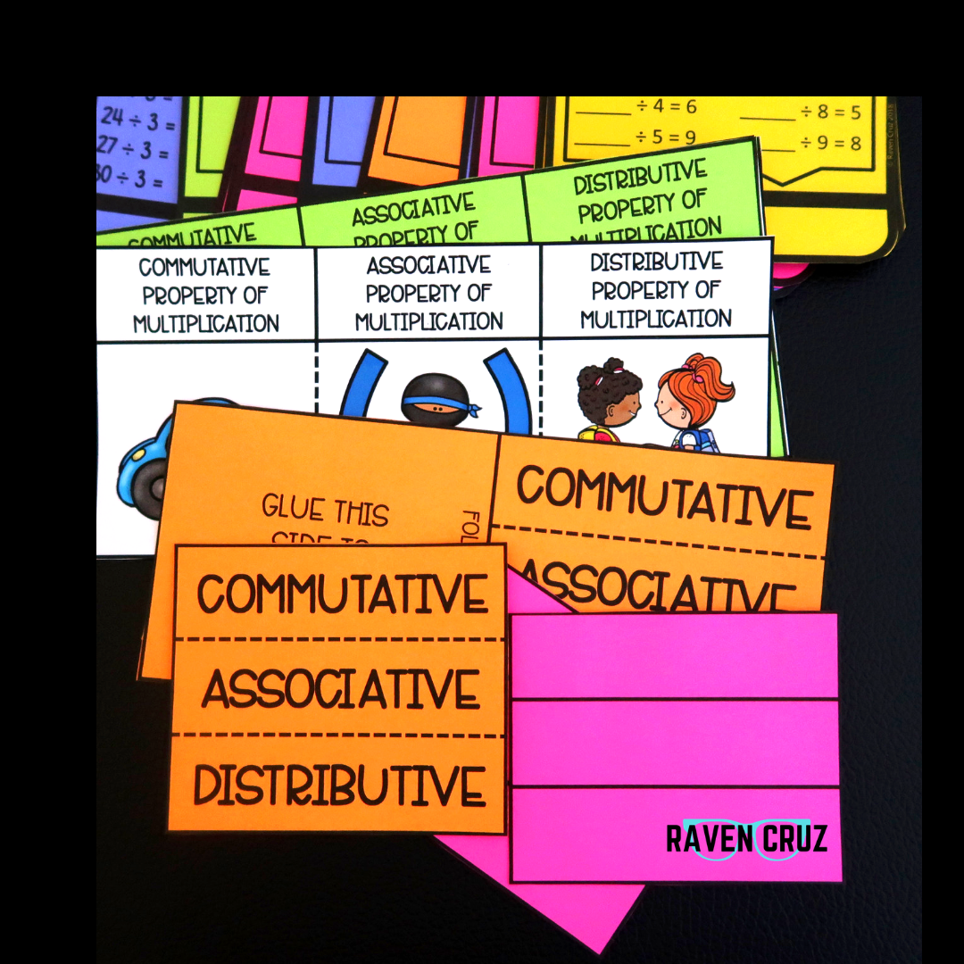 Operations And Algebraic Thinking Task Cards Volume 3