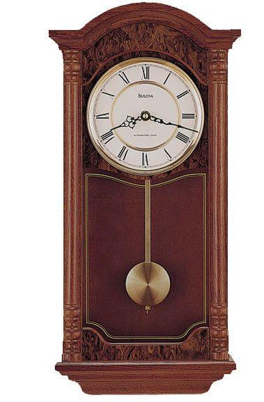 Bulova C4431 Edenhall Ii Pendulum Wall Clock Antique Wall Clocks Wall Clock Clock