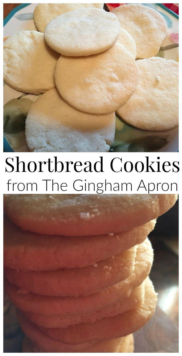 Best Shortbread Cookie Recipe: Shortbread Cookies