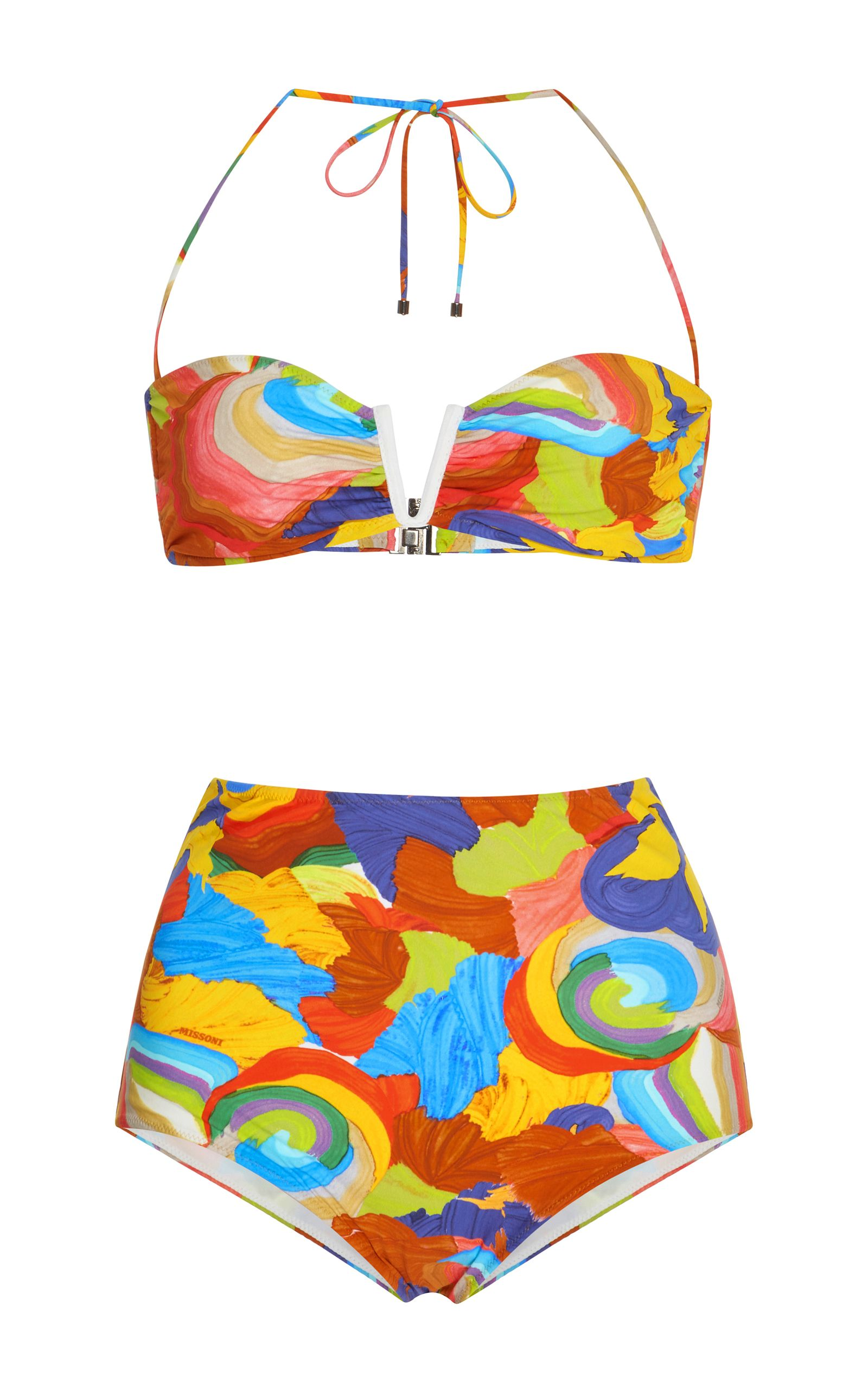 9e1427bfac69d High Rise Bikini Set by MISSONI MARE Now Available on Moda Operandi