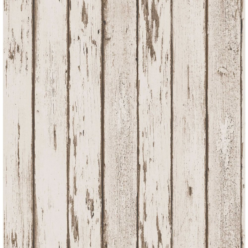 fine decor wooden planks neutral wallpaper at