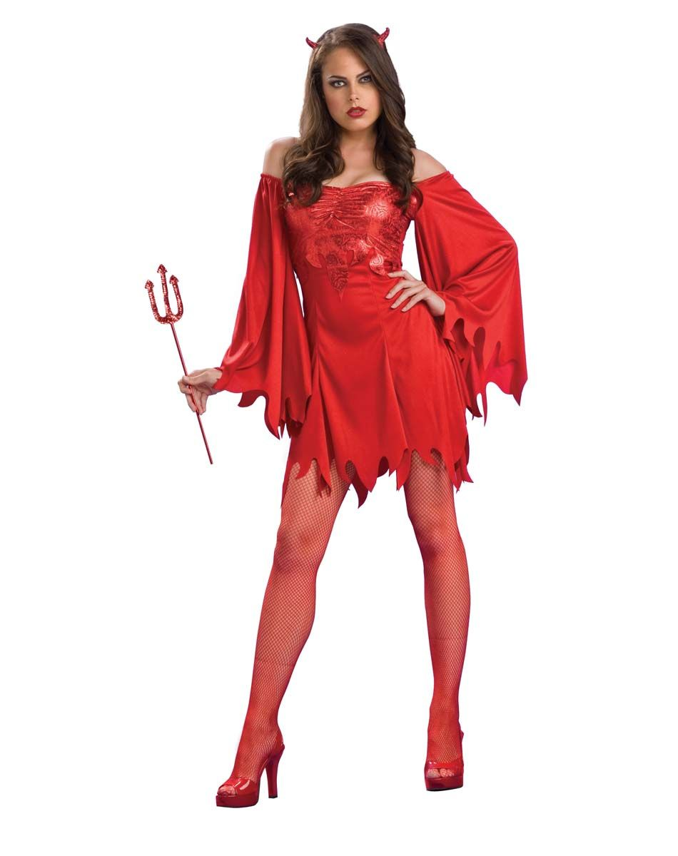Tail Devil Halloween Red Womens Ladies Adults Fancy Dress Costume Accessory
