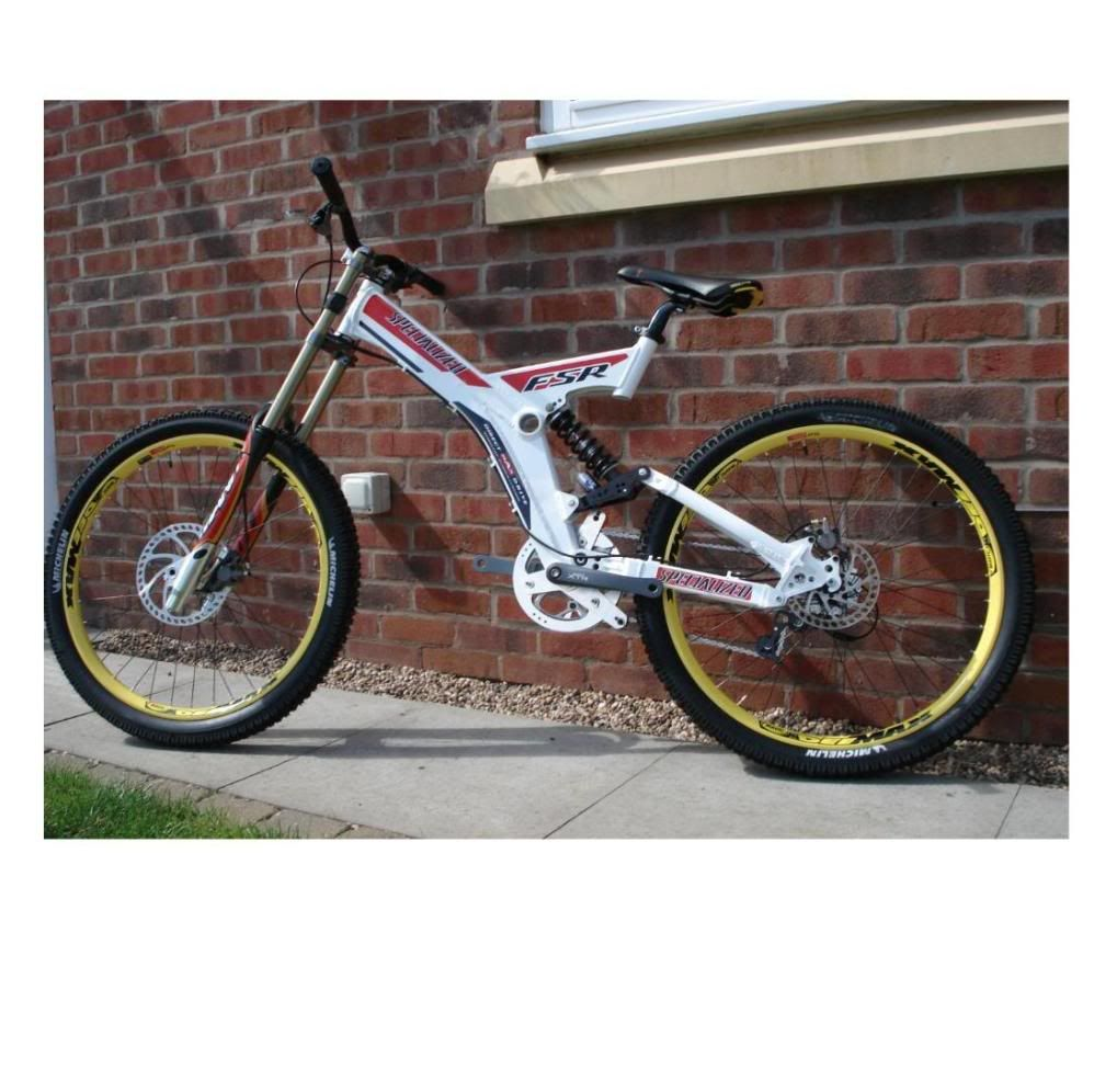 Old School Dh Bikes Specialized Fsr Team Dh