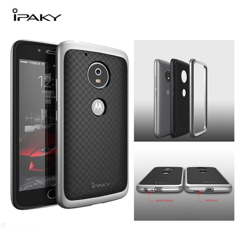 new product 62058 14431 6.99AUD - 2In1 Ipaky Hybrid Bumper Tpu Rubber Cover Case For ...